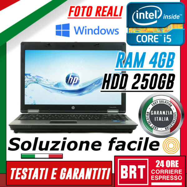 PC NOTEBOOK PORTATILE HP 6450B 14