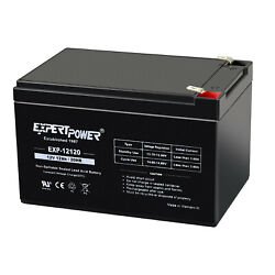 Kyпить EXPERTPOWER 12V 12Ah F2 SEALED LEAD ACID RECHARGEABLE BATTERY на еВаy.соm