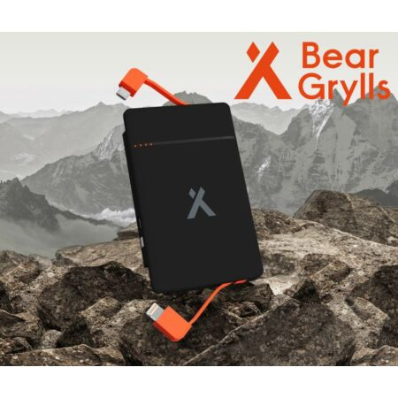img-Portable Phone Charger Travel Camping Festival USB Power Bank Bear Grylls