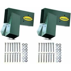 Kyпить Eastern Jungle Gym Easy 1-2-3 A-Frame 2 Brackets for Swing Set with All Hardware на еВаy.соm