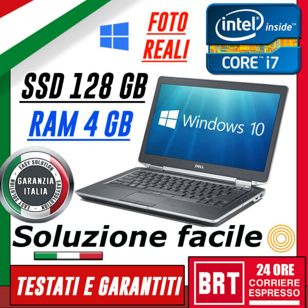 PC NOTEBOOK PORTATILE DELL E6430S 14
