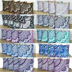Kyпить 50 Pcs. Wholesale Lot 16x16 Inch Indian Cotton Home Decorative Cushion Covers на еВаy.соm