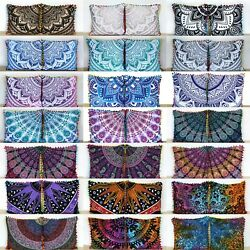 Kyпить 40 Pcs. Wholesale Lot 16x16 Inch Indian Cotton Home Decorative Cushion Covers на еВаy.соm
