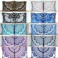 Kyпить Wholesale Lot 16x16 Inch Indian Cotton Home Decorative Cushion Covers 20 Pcs.  на еВаy.соm