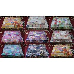 Kyпить New 10 Pcs Wholesale Lots Indian Patchwork Floor Cushion Covers Home Decorative на еВаy.соm