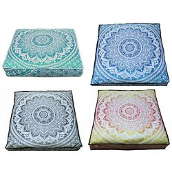 Kyпить 5 Pcs Wholesale Lots Indian Ombre Mandala Floor Cushion Covers Home Decorative на еВаy.соm