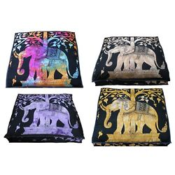 Kyпить 5 Pcs Wholesale Lots Indian Elephant Mandala Floor Cushion Cover Home Decorative на еВаy.соm