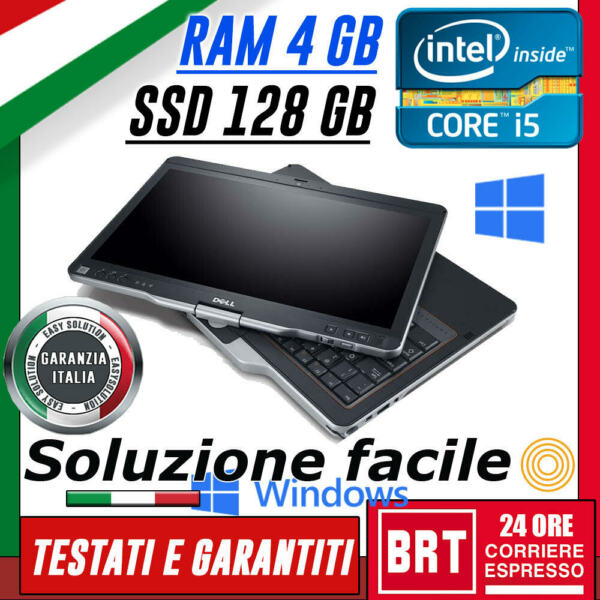 *PC NOTEBOOK DELL XT3 TOUCH TABLET 13,3