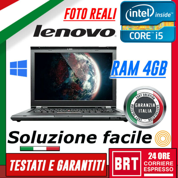 PC NOTEBOOK PORTATILE LENOVO THINKPAD T430S 14