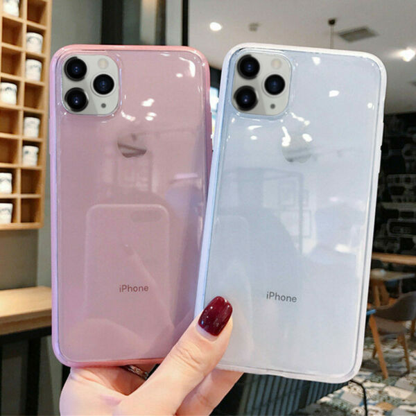 Crystal Clear Case For iPhone XR 11 Pro Max X XS 6 6s 8 7 Plus Shockproof Cover
