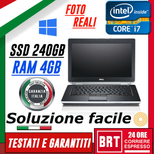 PC NOTEBOOK PORTATILE DELL E6420 14