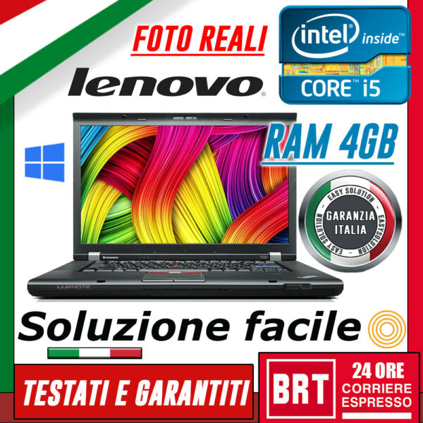 PC NOTEBOOK LENOVO THINKPAD T520 15.6