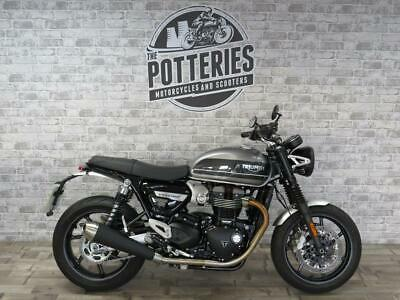 2019 Triumph Speed Twin 1200 with 950 miles