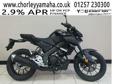 YAMAHA MT-125    2020 MODEL.DELIVEY ARRANGED, 2.9% APR RATE FINANCE,P/X WELCOME