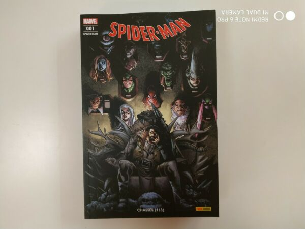marvel SPIDERMAN SPIDER-MAN 1 panini janvier 2020 neuf