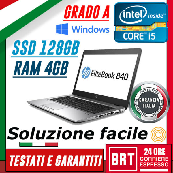 PC NOTEBOOK PORTATILE HP 840 G1 14
