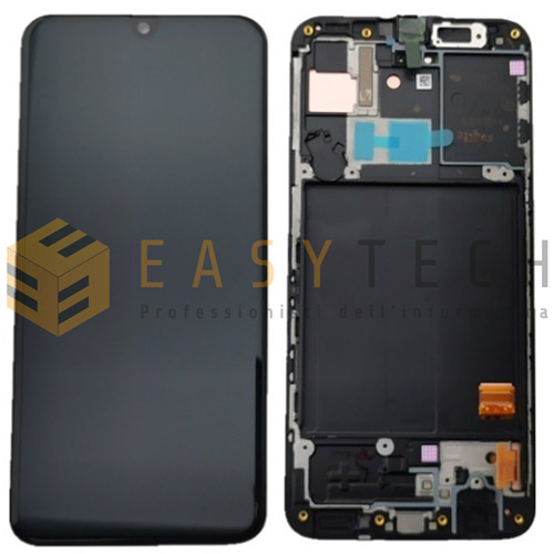 DISPLAY LCD TOUCH SCREEN SCHERMO SAMSUNG GALAXY A40 SM-A405 FN/DS NERO ORIGINALE