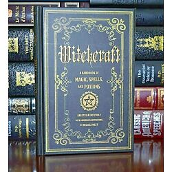Kyпить Witchcraft Handbook of Magic Spells and Potions New Collectible Hardcover Gift на еВаy.соm