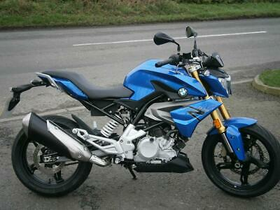 BMW G310R, 2018/68 JUST 445 MILES, FSH, 1 OWNER