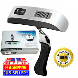 Kyпить 110Lb 50kg Portable Travel LCD Digital Hanging Luggage Scale Weight Electronic на еВаy.соm