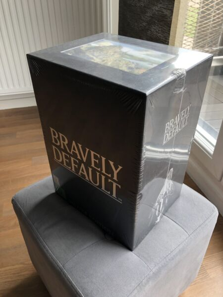 Bravely Default Deluxe Edition (Neuf Sous Blister) COLLECTOR !!