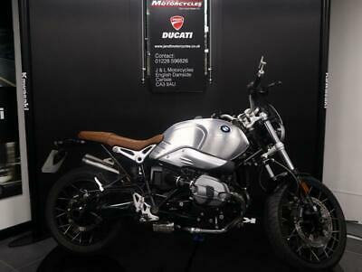BMW R Nine T Scrambler. 2016 MY fitted with Alloy Tank as Extra.