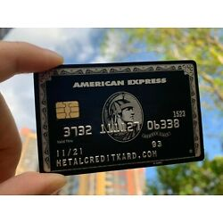Kyпить Collect Amex Black Card Customizable American Express Centurion Metal Black Card на еВаy.соm