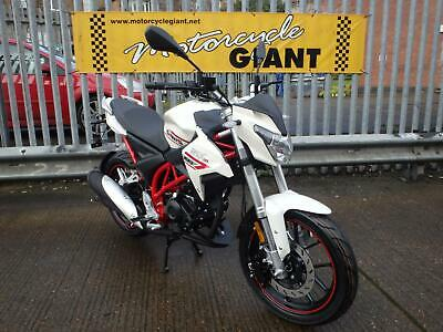 SINNIS RSX 125 EFI Brand new 2020 Model 0 Miles Cutting Edge Naked Sports 125