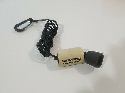 LEARNER KEY SEADOO DESS PROGRAMABLE JET SKI PWC SAFETY TETHER LANYARD KEY