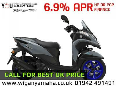 YAMAHA MW125 TRICITY 2020 MODEL, 0 MILES, 125cc 3 WHEEL AUTOMATIC SCOOTER...