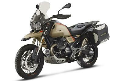 Moto Guzzi V85 Travel, New for 2020 with Panniers, Heated Grips, Tall Screen Etc