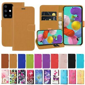 Case For Samsung Galaxy A10 A20E A40 A51 A71 S20 S20+ Leather Wallet Phone Cover