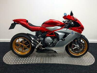 2015 MV Agusta F3 800 EAS Red/Silver Loaded With Extras