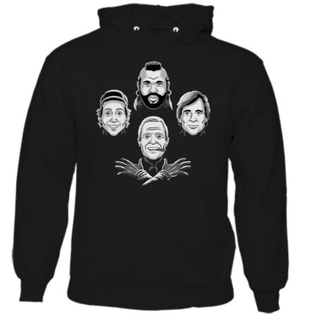 img-THE A-TEAM HOODIE Rhapsody Unisex Tee Top 80's Knight Rider Airwolf Fall Guy