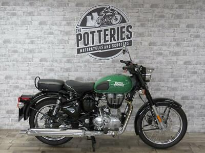 Royal Enfield Bullet Classic 500 cc Euro 4 ABS Redditch 2018 450 miles