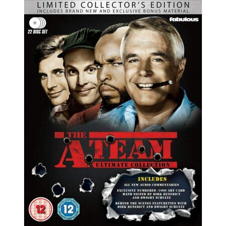 img-The A-Team: Ultimate Collection (Seasons 1-5) (Limited Edition Signed Blu-ray)