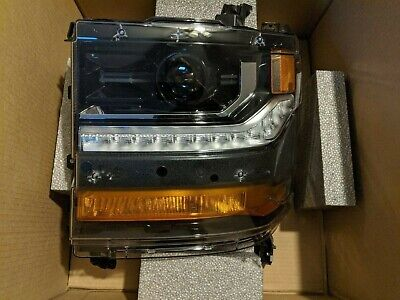 2016 17 18 Chevy Silverado 1500 HID XENON Headlight Left Driver OEM Paintable