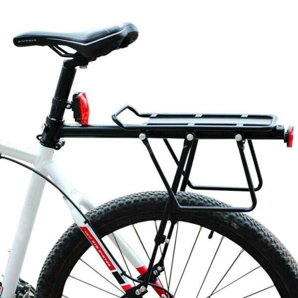 Aluminum Alloy Bike Rear Rack Seat Luggage Carrier Post Pannier Bicycle Bes T5U