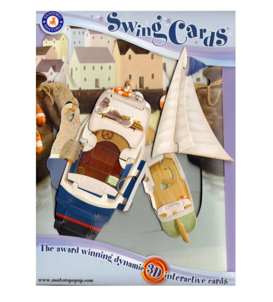 Royaume-UniHarbour Swing Card - Award Winning Dynamic 3D  Greetings card