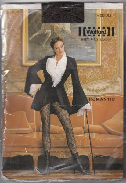 Paris,FranceCollant WOLFORD ROMANTIC  Coca. Taille M. Tights.