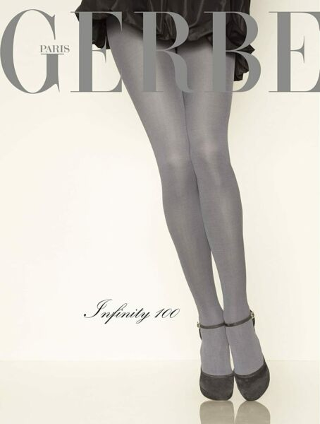 Paris,FranceCollant GERBE INFINITY 100 coloris . Taille 2 - 9. Opaque tights.