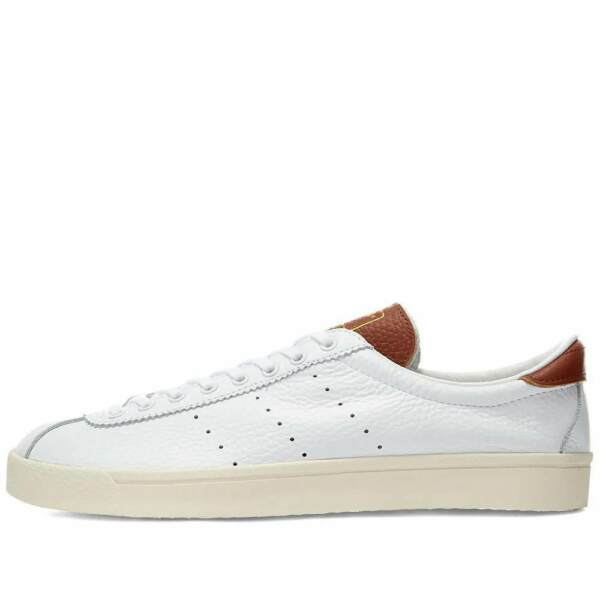 Royaume-UniAdidas Originaux Lacombe Blanc / Séquoia Cuir Chaussures Baskets UK 13