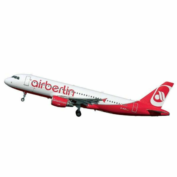 AllemagneRevell Model  Set Incl. Aqua Color Airbus A320 Air Berlin Aircraft