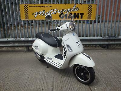 Piaggio Vespa GTS 300 2018 Only 2K Miles  Latest IGet  ABS Brakes Model