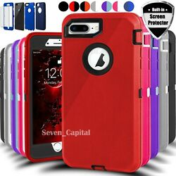 For iPhone 13 12 Mini 11 Pro X XR XS Max 6 7 8 Plus SE Shockproof Case Cover