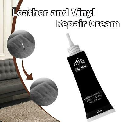 Furniture Couch Car Seats Sofa Jacket Black Leather and Vinyl Repair Cream Kit