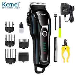 Kyпить KEMEI Pet Dog Cat Hair Clippers Grooming Trimmer Kit Professional Cordless Set на еВаy.соm