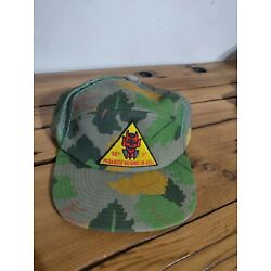 Diamond Supply Co Paradise Beings in Hell  7 Panel Skate Snapback Camo Hat - New