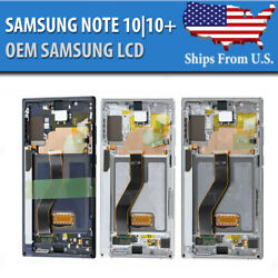 Kyпить Samsung Galaxy Note 10 | 10+ Plus LCD Replacement Screen Digitizer Frame OEM (A) на еВаy.соm