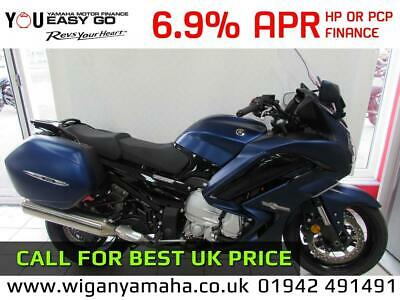 YAMAHA FJR1300AE, 2020 0 MILE, 6 Speed Electronic Suspension with Panniers...